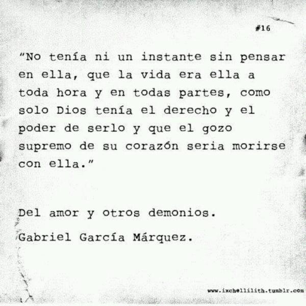Gabriel Garcia Marquez Poemas