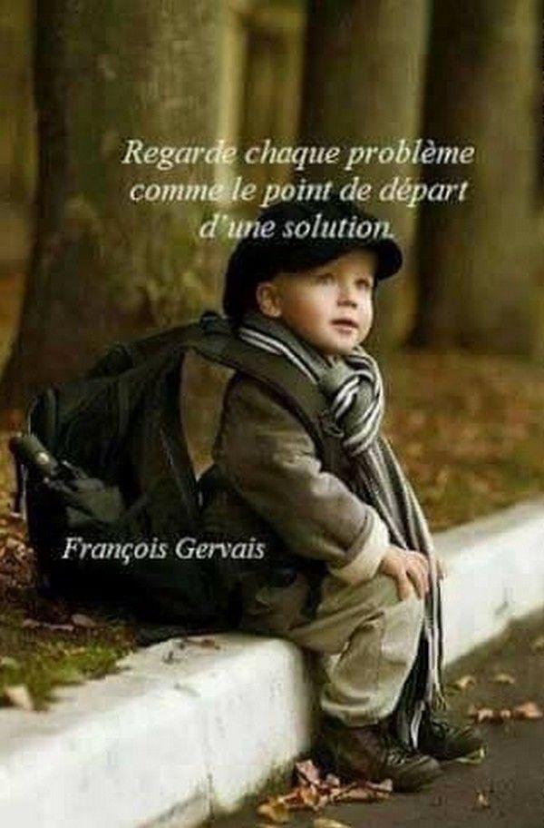 Le départ d'une solution