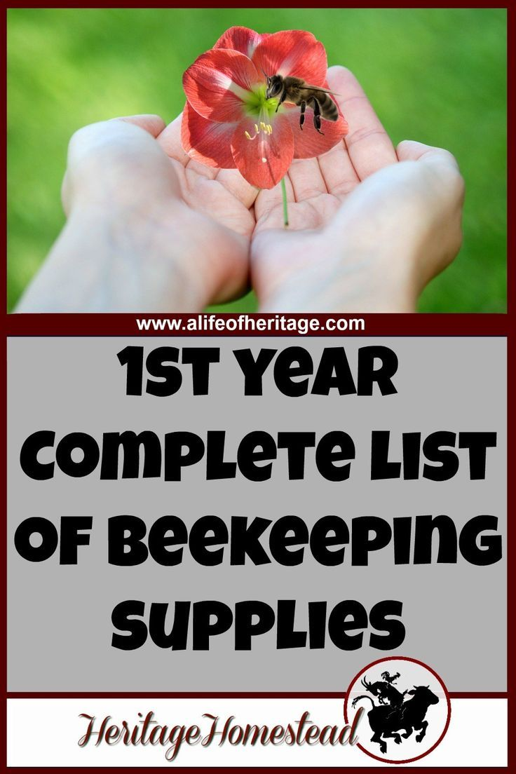 Ideal A plete list of beekeeping supplies you should be well aware of what you will