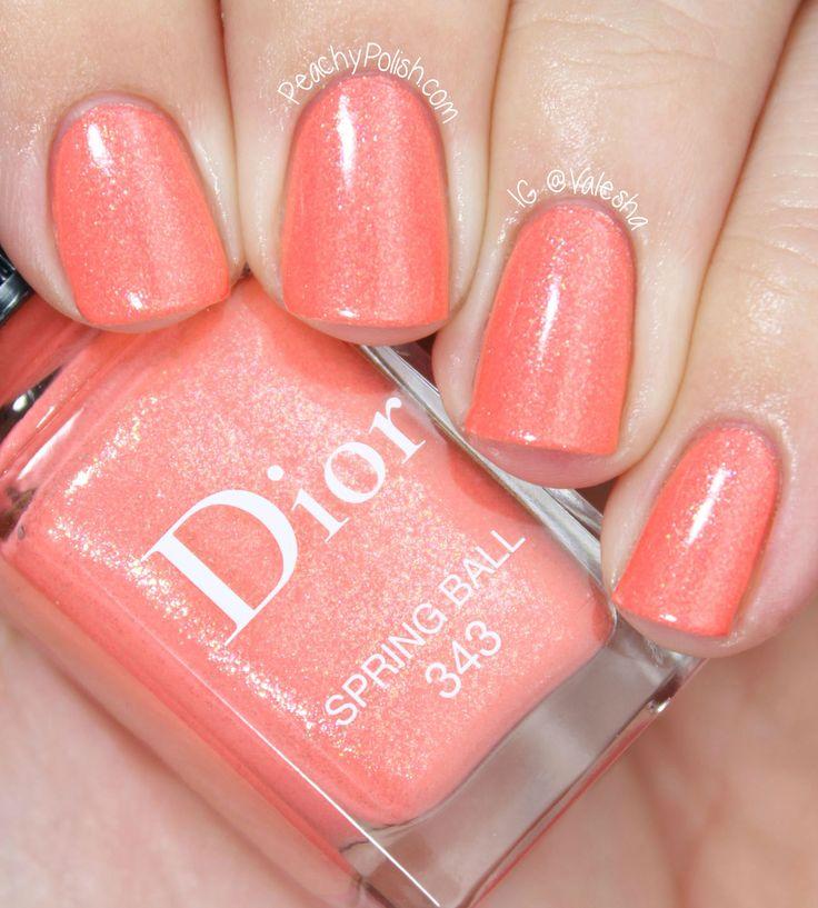 Dior Spring Ball, perfecte koraal kleur