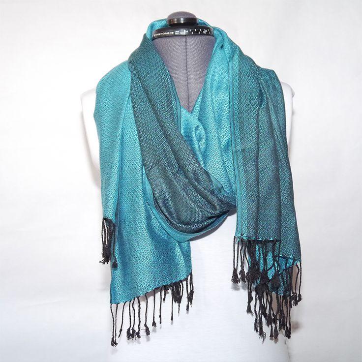 #decult #bomull #siden #sjal #scarf 219:- @ http://decult.se/store/products/sjal-bomullsilke-turkos