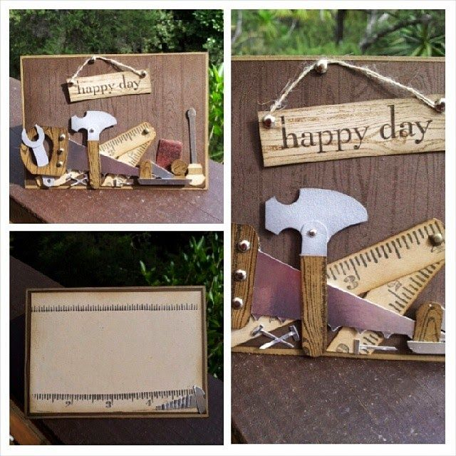 Lisa S Tool Time Father S Day Card: 162 Best Images About Cards: Father's Day + For Men On