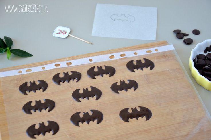 Ciasteczka Batman / Batman cookies