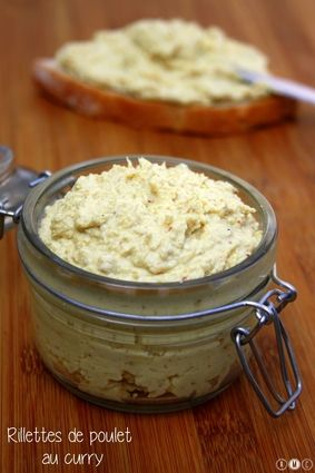 Rillettes de poulet light au curry : la recette facile