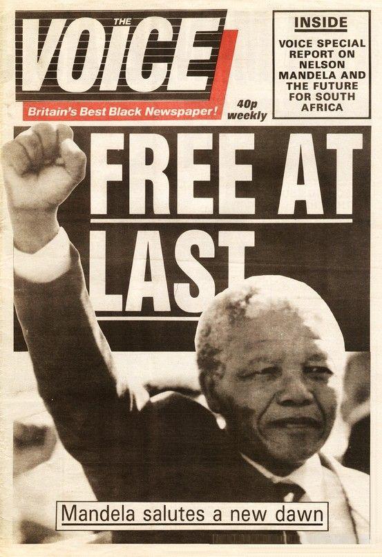 The Voice, Mandela