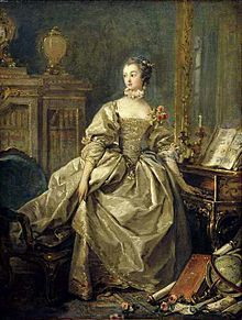 "Jeanne Antoinette Poisson ""Madame de Pompadour"" - royal mistress to Louis XV"