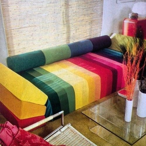 Moon to Moon: Vintage Homes: Rainbow Rooms from the 1970's #camperdigs