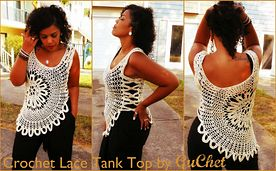 Ravelry: Lace Tank Top (Plus Size)