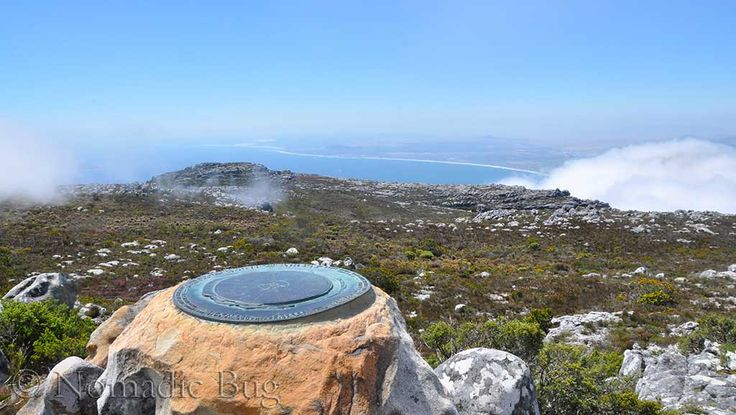 Finding your bearings, Table Mountain, Cape Town, South Africa  Landmarks Nomadic Existence