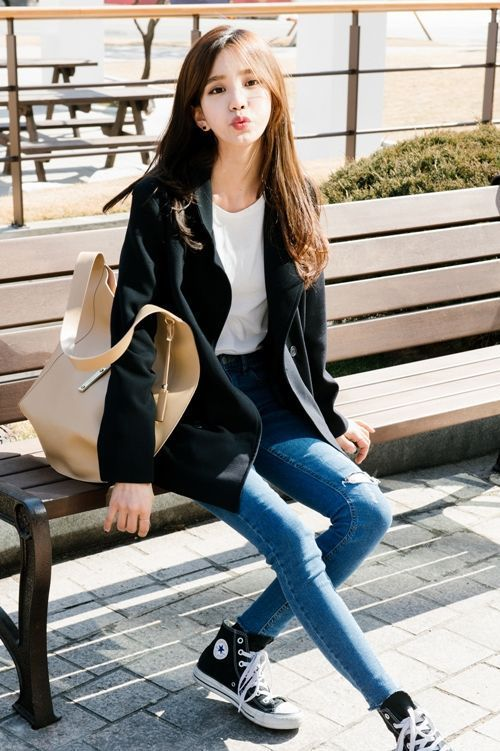 awesome cool Korean Daily Fashion by www.globalfashion......