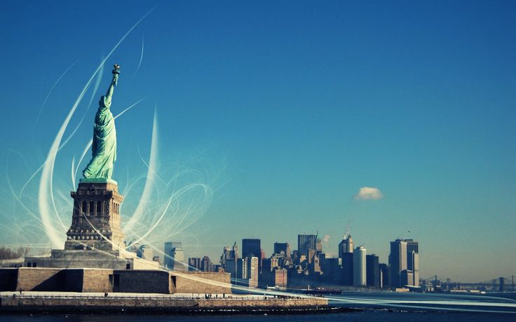 new yorks statue of liberty full hd for desktop background image free download
