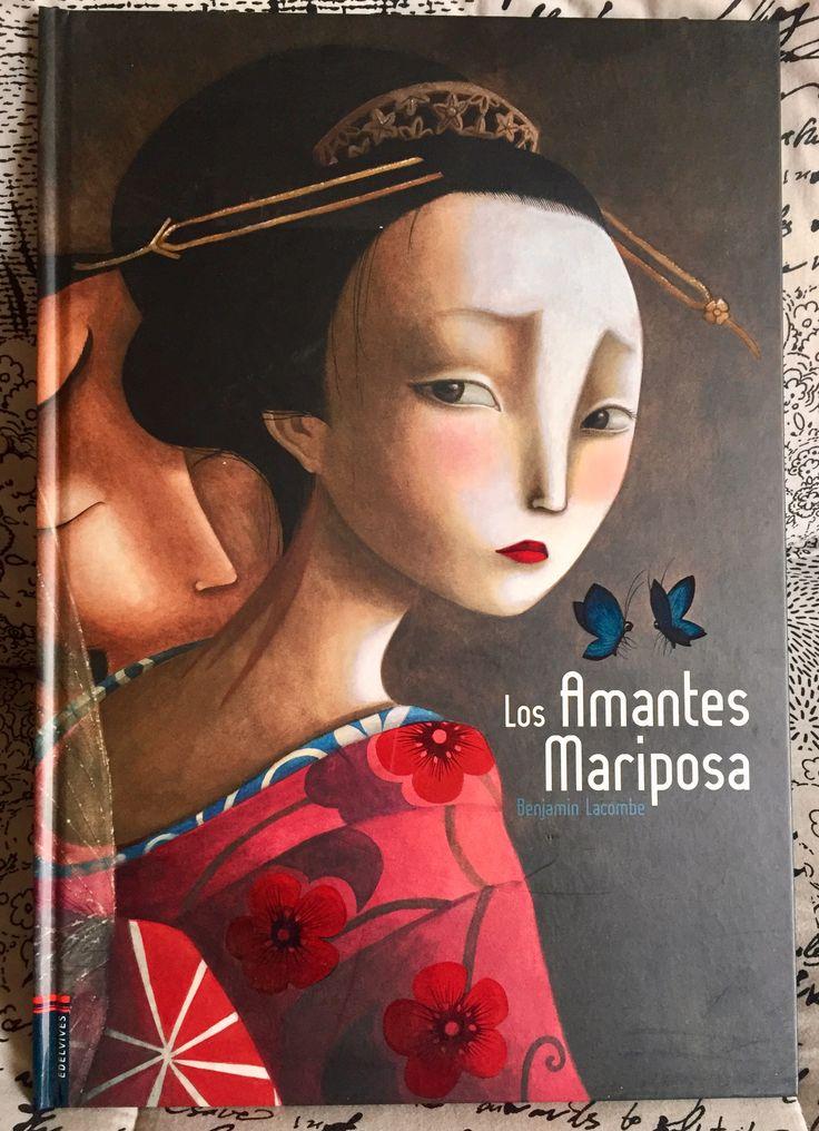 Los Amantes Mariposa. Benjamín Lacombe