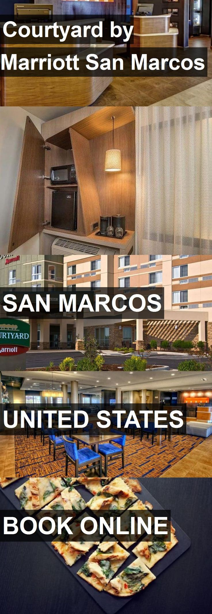 Hotel Courtyard by Marriott San Marcos in San Marcos, United States. For more information, photos, reviews and best prices please follow the link. #UnitedStates #SanMarcos #travel #vacation #hotel