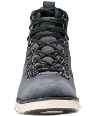 Cole Haan Men's Zero Grand Hiker Water Resistant Ii Boots - Gray 10.5