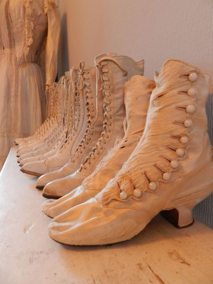 Victorian Ladies Boots.                                                                                                                                                     More