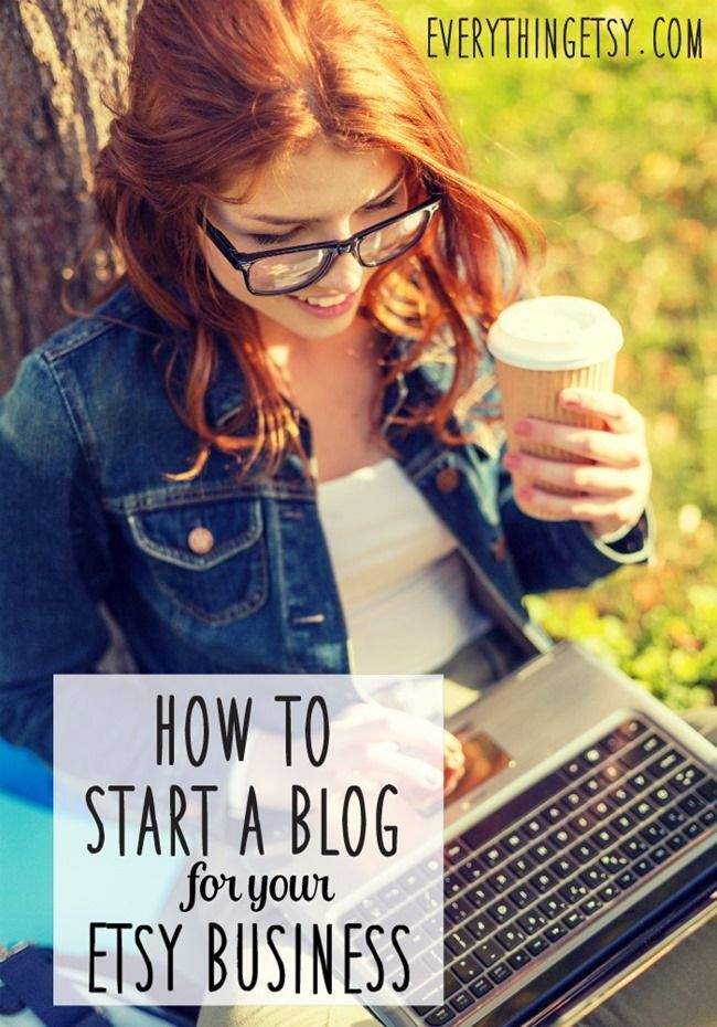 How to Start a Blog for Your Etsy Business