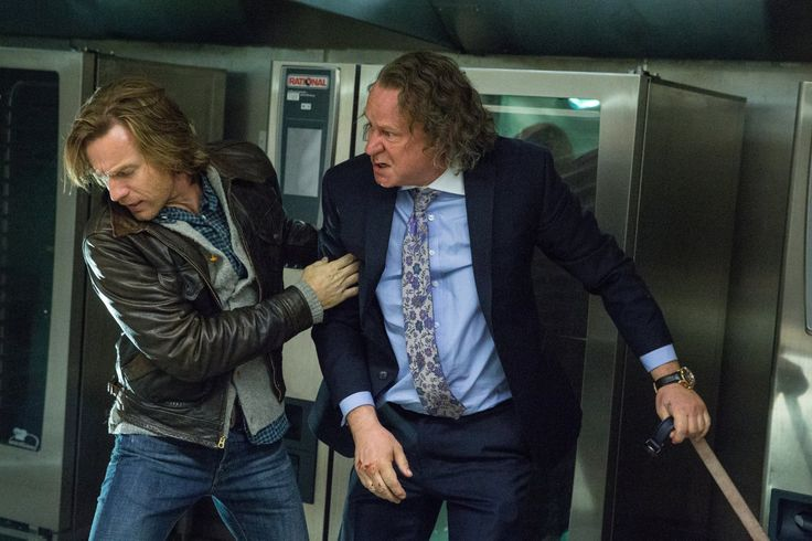 Ewan McGregor and Stellan Skarsgård in Our Kind of Traitor (2016)