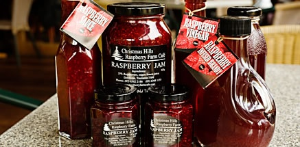 Christmas Hills Rasberry Farm Cafe | Tasmania | Australia | Cafe & Raspberry Farm