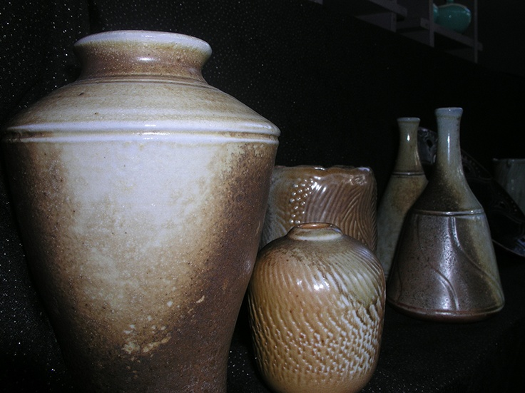 Pots by Ellen Terrell at the Port Douglas Market    https://www.facebook.com/portdouglasmarket    #pottery #port #douglas #market #lustre #stoneware #woodfired