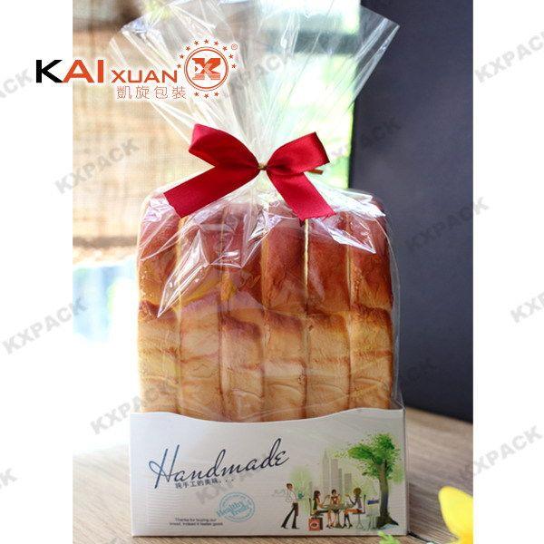 2015 новейшие - конец тост упаковка бопп пакет для хлеба с покрытием лоток для бумаги