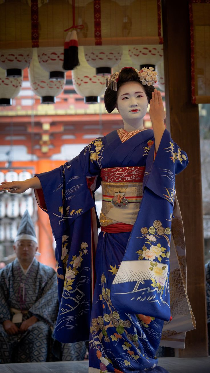 舞妓 maiko 市照 ichiteru 先斗町 節分祭 KYOTO JAPAN