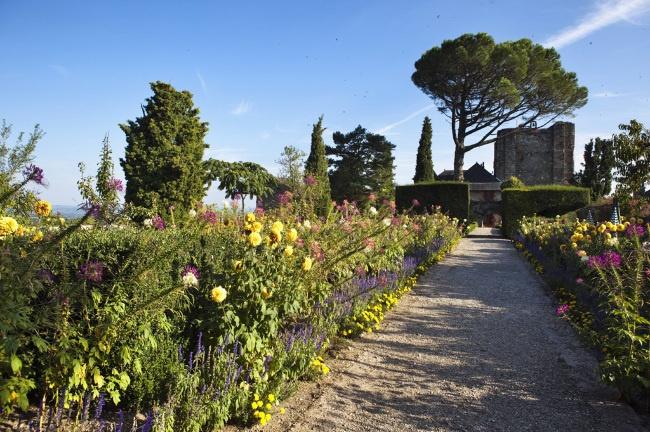 Jardins du château Turenne © P. Soissons / ADT Corrèze