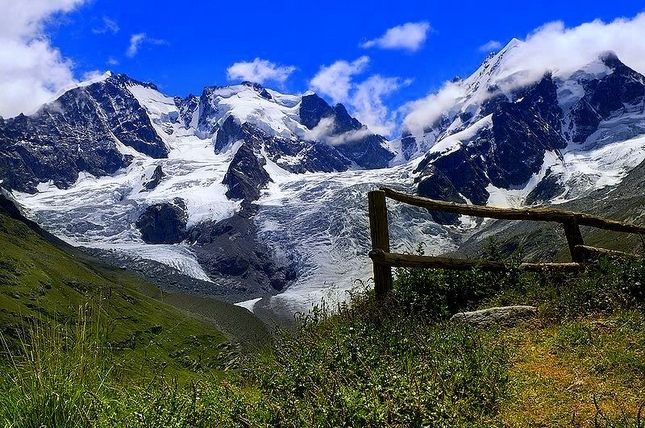 Piz Bernina - St. Moritz