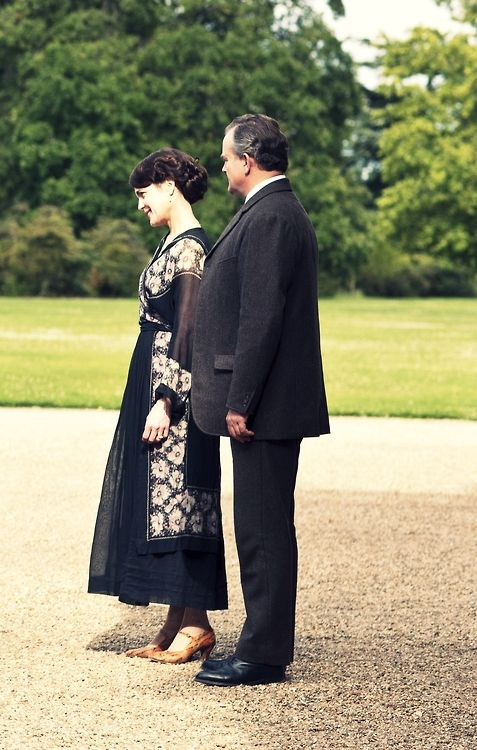 Lord Robert Crawley, 5th Earl of Grantham and Lady Cora Crawley, Countess of Grantham