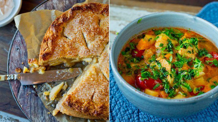 Fra suppe til pai - her er Lises beste oppskrifter med eple