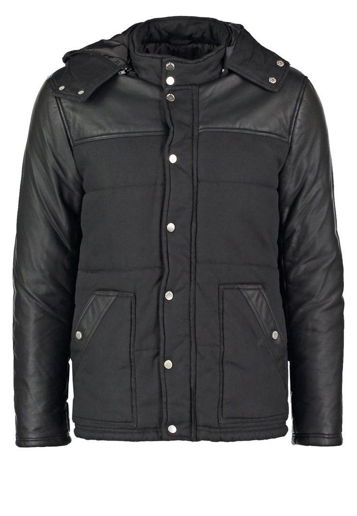 Freaky Nation TRACIE Kurtka zimowa schwarz 389.00zł #moda #fashion #men #mężczyzna #freaky #nation #tracie #kurtka #zimowa #męska #schwarz #czarny #black #puchowa #ocieplana