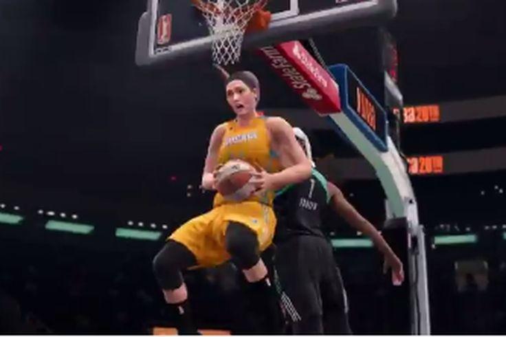 NBA Live 18 es el primer juego de video función completa de la WNBA listas