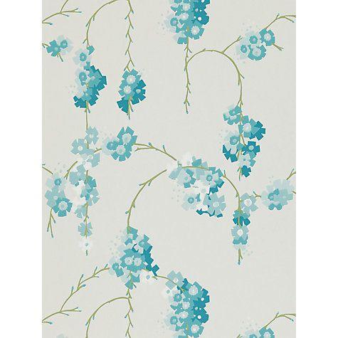 Buy Harlequin Giselle Wallpaper Teal 110131 Online At Johnlewis