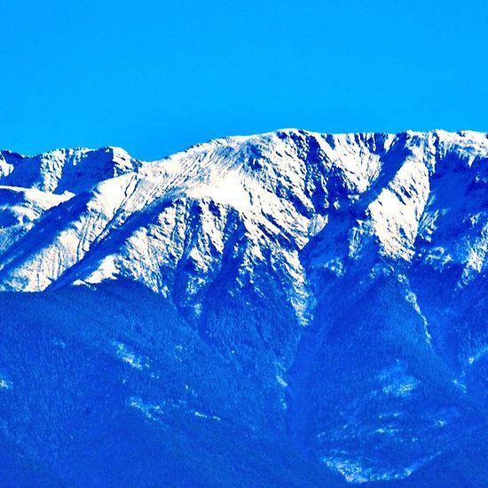 Close-up of the Carpathians Mountains, Transylvania