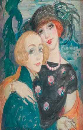 Gerda Gottlieb and Lili Elbe. Gottliebs portraits of her transgendered partner Lili have become iconic images of the liberated 1920s era.