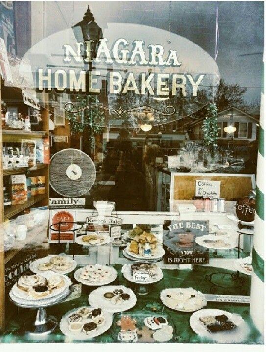 Niagara Home Bakery. #niagaraonthelake