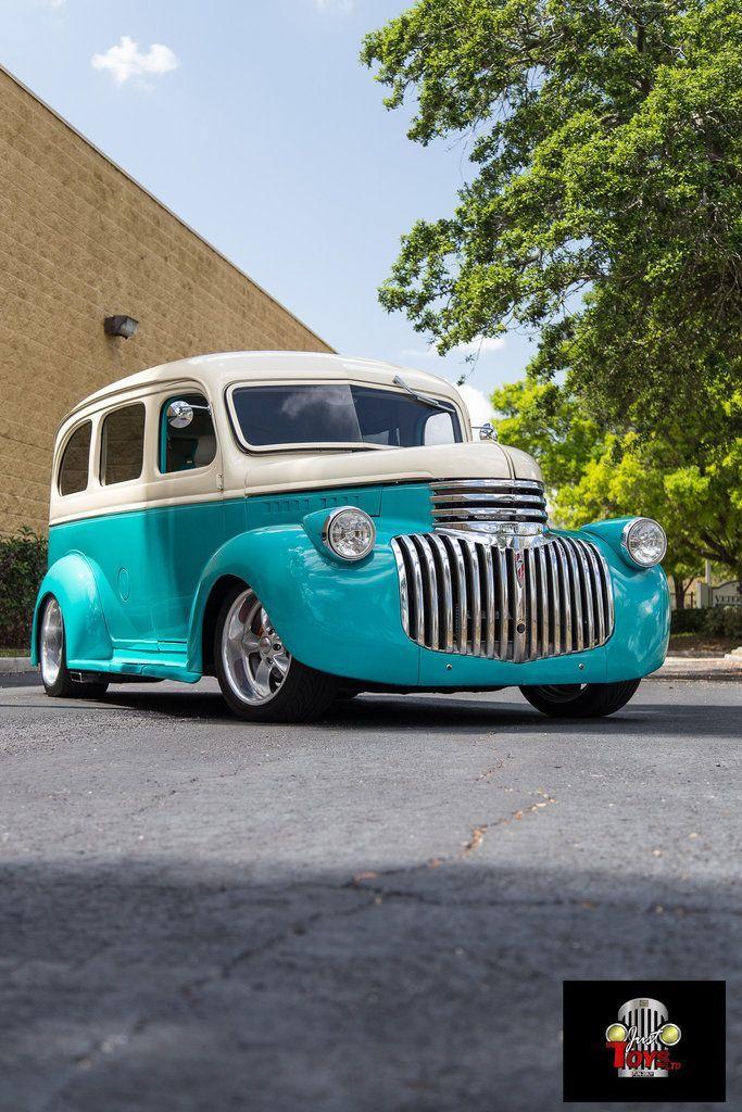 1946 Chevrolet Suburban 92 #classictrucks