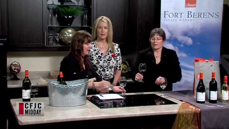 Linda heads to the Midday show with Fort Berens Wines! Delicious BC wine from the beautiful valley of Lillooet!