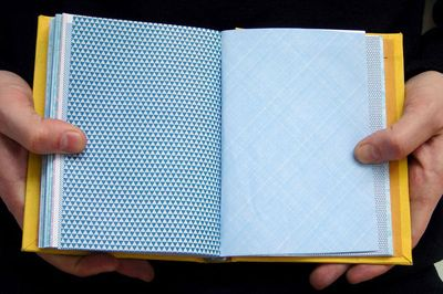Things to make from the patterned insides of security envelopes.