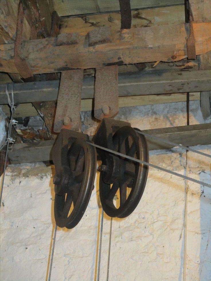 Detail of mechanism behind the Clock-Tower, Culzean Castle.