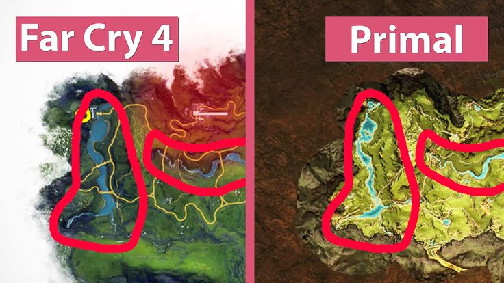 farcry5gamer.comFar Cry 4 vs. Primal – World Maps & Landscape Comparison GameStar PCs | Gaming PCs & Notebooks: We are on Facebook: Far Cry Primal hier kaufen: Far Cry 4 and Far Cry Primal base on the same world map. We compare the map of Far Cry 4 and Primal as well as identical locations (as far as possible). We usedhttp://farcry5gamer.com/far-cry-4-vs-primal-world-maps-landscape-comparison/