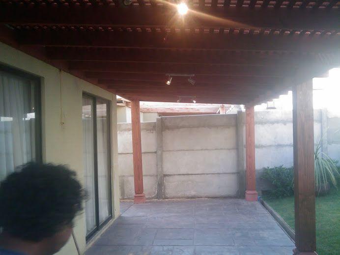 Pergola Altos De Huechuraba Alex En 2019 Quinchos Casa