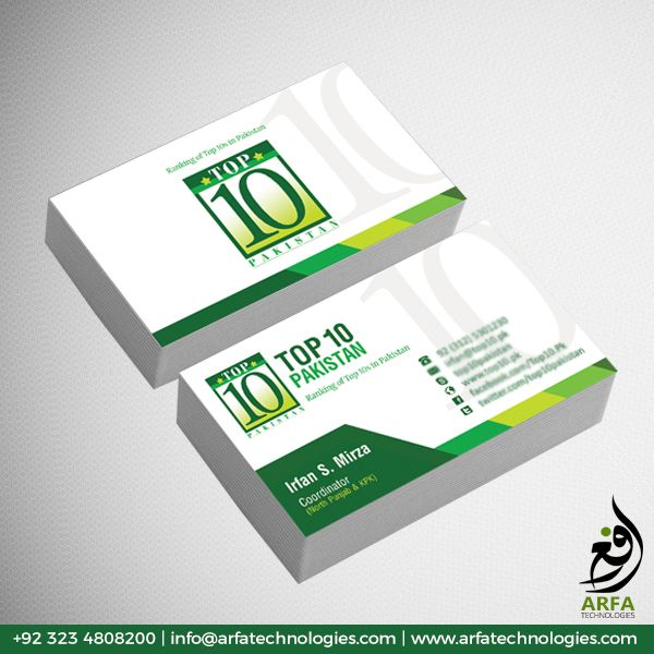 Top 10 Business Visiting Card Design Business Card Design Cool Business Cards Visiting Card Design