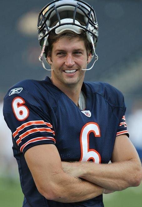 Jay Cutler -- un-Bear-ably hot.