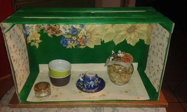 Da cassetta della frutta a scaffale da cucina :-)