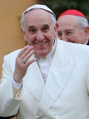 The Bible, Pope Francis says, shows how 'communion with God is reflected in the communion of the human couple, and that the loss of faith in the Heavenly father engenders division and conflict between man and woman.'