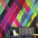 Dip Dye je muur