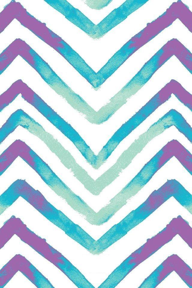 Purple and Blue Chevron 640 X 960 Wallpapers tersedia untuk mengunduh gratis.