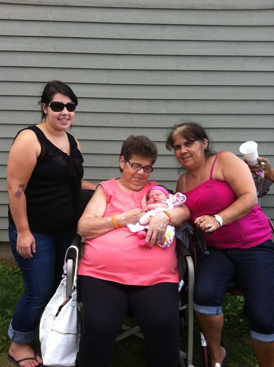 The 4 generations #Pin By:Pinterest++ for iPad#