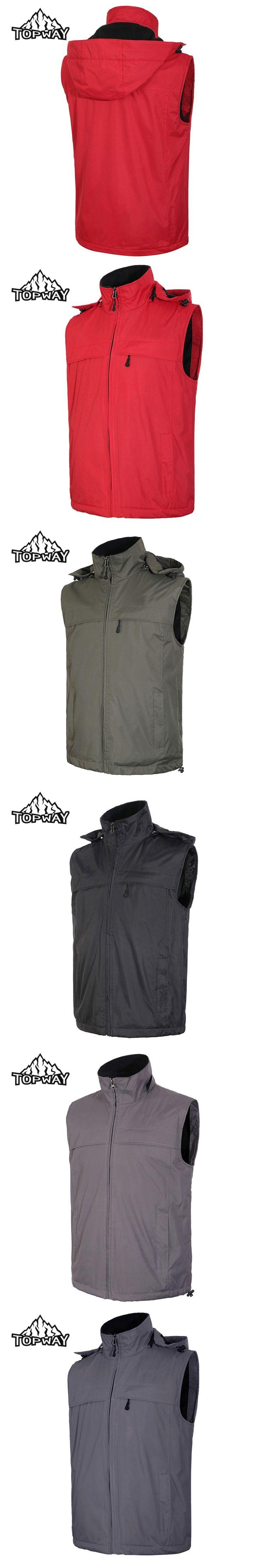 2017 New Thermal Fleece Lining Chaleco Hombre Softshell Water Resistant Sleeveless Bodywarmer  Gilet Waistcoat Vest Men