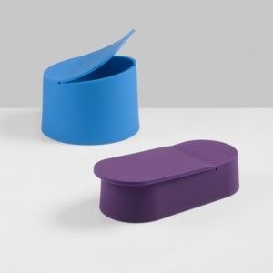 Flex silicone pots by Tomas Kral  for Praxis